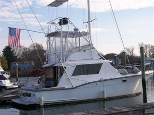 Used Hatteras 38 Convertible Fishing Boat For Sale