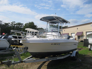 Used Triumph 195 CC Saltwater Fishing Boat For Sale