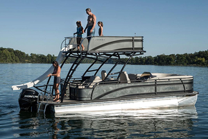 New Harris Solstice RD 260 Pontoon Boat For Sale