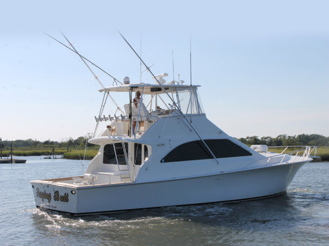 2000 used ocean super sport sports fishing boat for sale for Fishing boats for sale nj