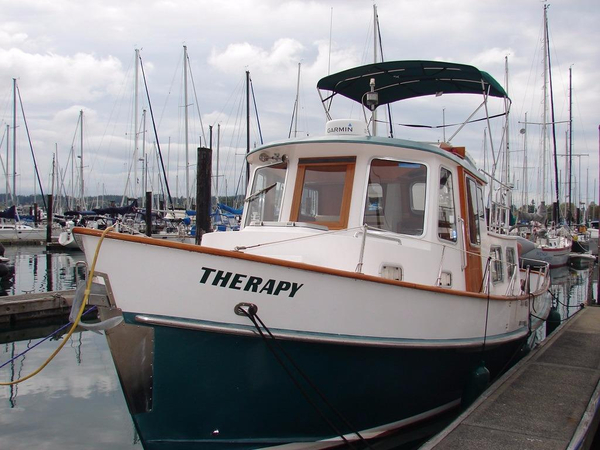 Used Eagle Trawler 32 Trawler Boat For Sale