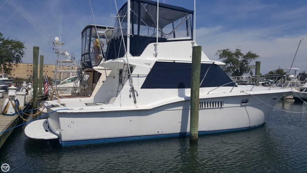 1972 used hatteras 38 convertible sports fishing boat for for Fishing boats for sale nj