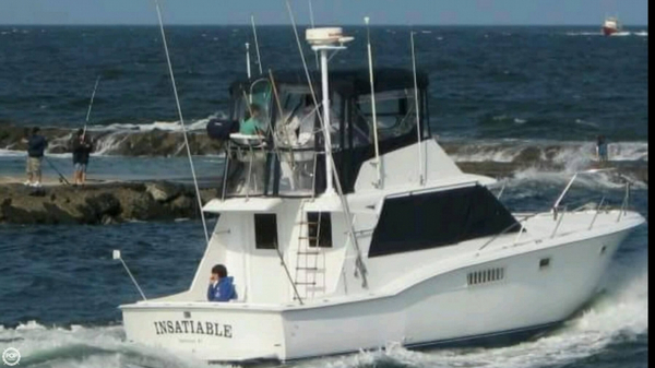 Used Hatteras 38 Convertible Sports Fishing Boat For Sale