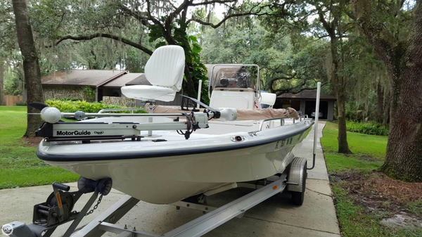Used Polar 2300 BB Center Console Fishing Boat For Sale