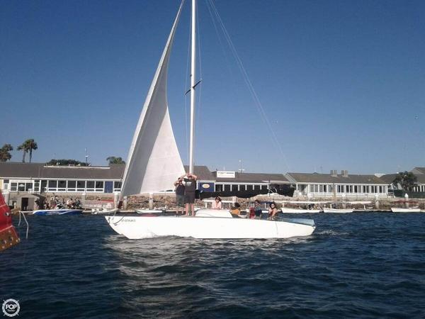 Used Custom 28 Catamaran Sailboat For Sale