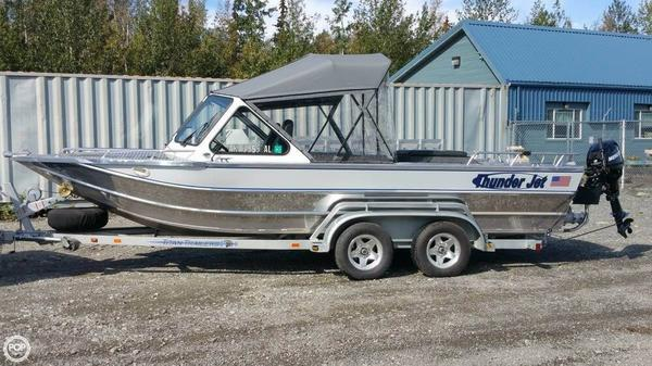 Used Thunderjet 21 Alexis Aluminum Fishing Boat For Sale