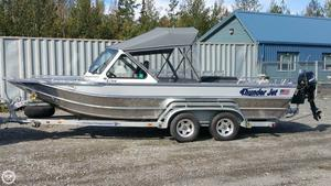 Used Thunderjet 21 Alexis Aluminum Fishing Boat For Sale