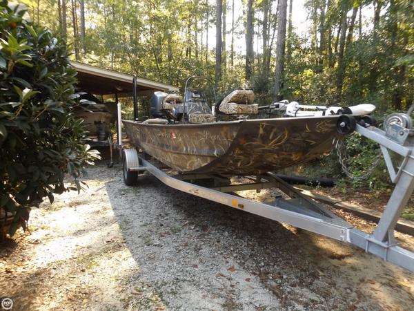 Used War Eagle 1860 LDSV Aluminum Fishing Boat For Sale