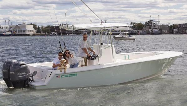 New Contender 25 Tournament Saltwater Fishing Boat For Sale