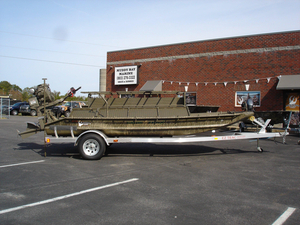 New Gator Trax 16x54 Gator Hide Gen II Hybrid Aluminum Fishing Boat For Sale