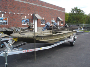 New Gator Trax 18x54 Huntdeck Hybrid Aluminum Fishing Boat For Sale