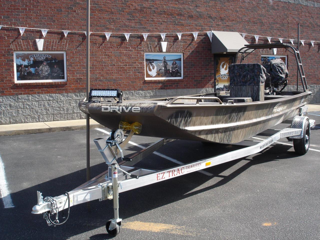 2016 New Pro Drive 1854 Center Console Aluminum Fishing