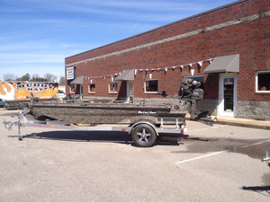 New Gator Tail 1754 Extreme Series Aluminum Fishing Boat For Sale
