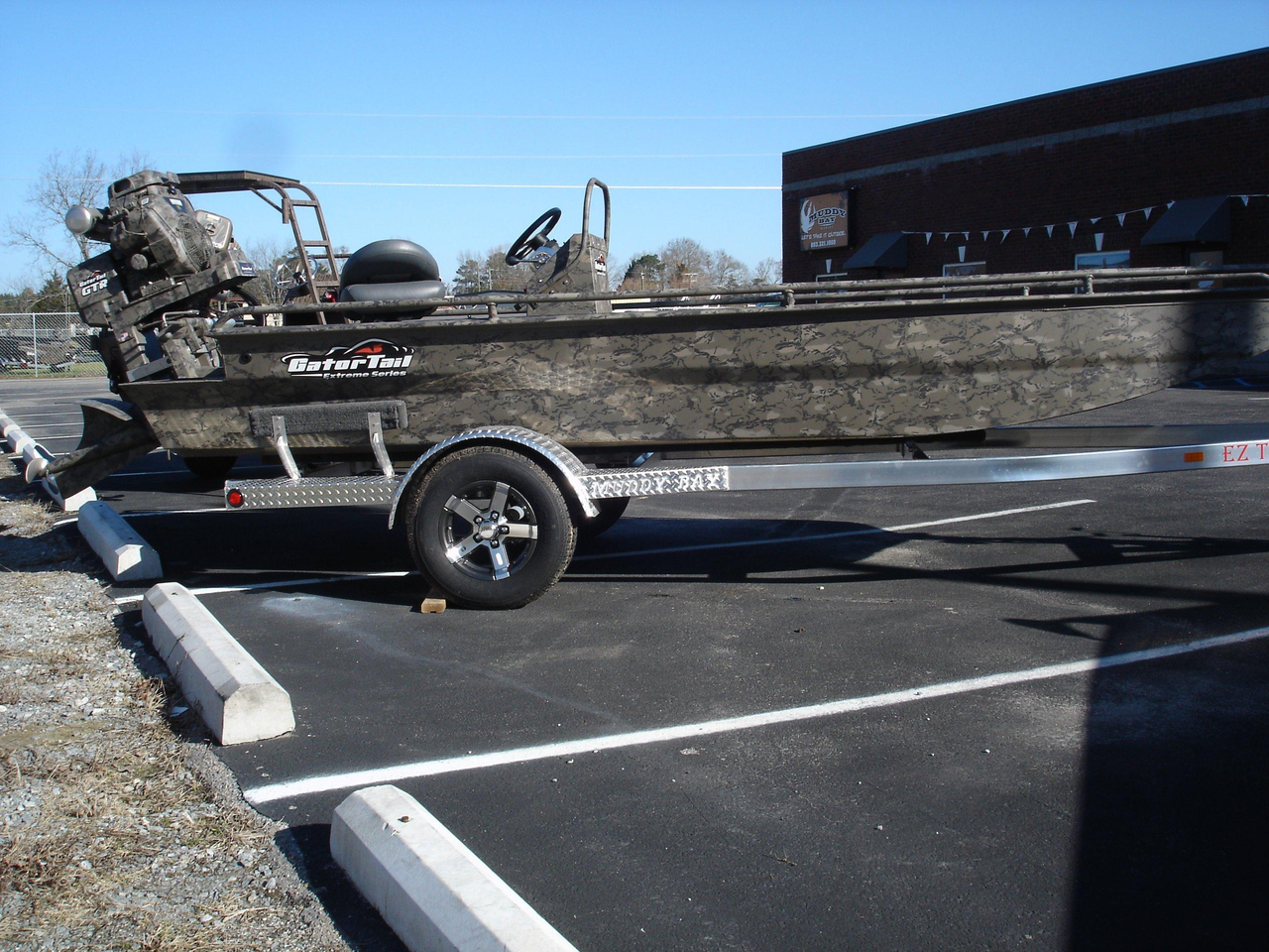2017 new gator tail 1854 extreme center console aluminum for Center console fishing boats for sale