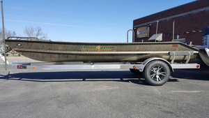 New Gator Trax 16x44 Sport Hunt Deck Aluminum Fishing Boat For Sale