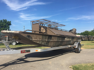 New Pro-Drive 18x54 TDX HUNT BLIND System Aluminum Fishing Boat For Sale