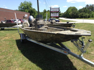 New War Eagle 961 Blackhawk with Duck Bill Option Aluminum Fishing Boat For Sale