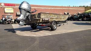 New War Eagle 754 LDV Ducks Unlimited Ed. Aluminum Fishing Boat For Sale