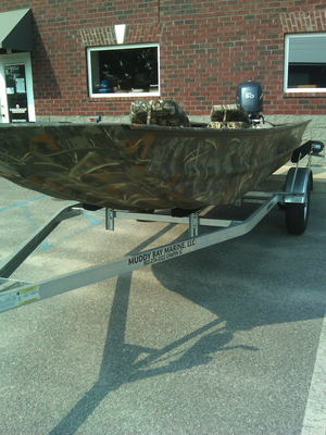 New War Eagle 754 LDV Ducks Unlimited Edition Freshwater Fishing Boat For Sale