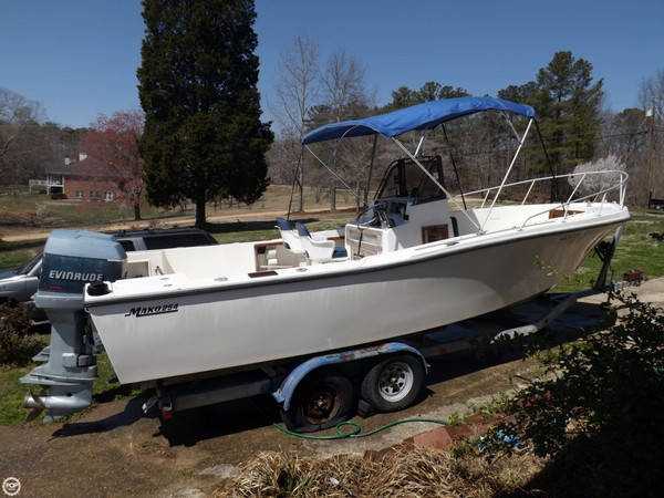 Used Mako 254 Center Console Fishing Boat For Sale