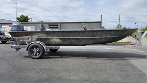 New Alweld 1856PF (Pan Fish) Deluxe Aluminum Fishing Boat For Sale