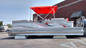 New Qwest LS 824 Lanai DS Bar Pontoon Boat For Sale