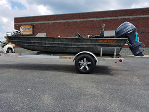 New Alweld 1648 VV Marsh Series SC Aluminum Fishing Boat For Sale