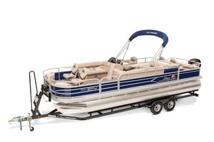New Sun Tracker Fishin' Barge 24 DLX Pontoon Boat For Sale