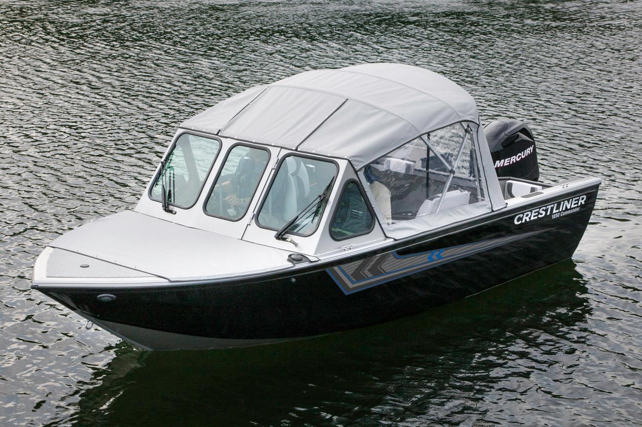 2016 new crestliner 1850 commander aluminum fishing boat for New fishing boats for sale
