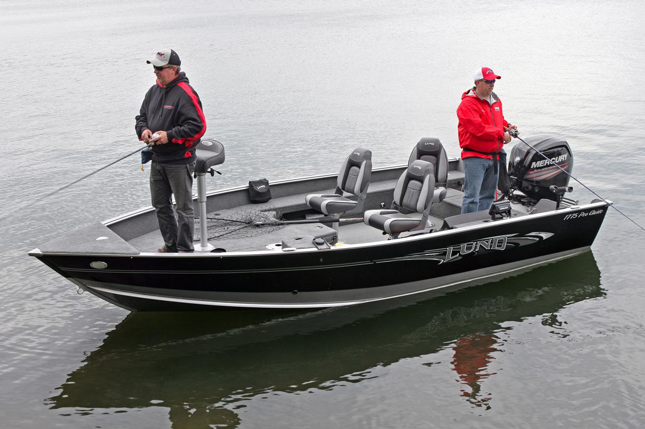2016 new lund 1775 pro guide freshwater fishing boat for for Fishing boats for sale mn