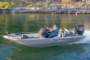 New Crestliner 1600 Storm Poly Bass Boat For Sale