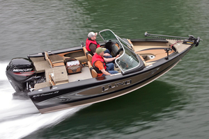 New Lund 1675 Crossover XS Ski and Fish Boat For Sale
