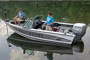 New Lund 1775 Crossover XS Ski and Fish Boat For Sale