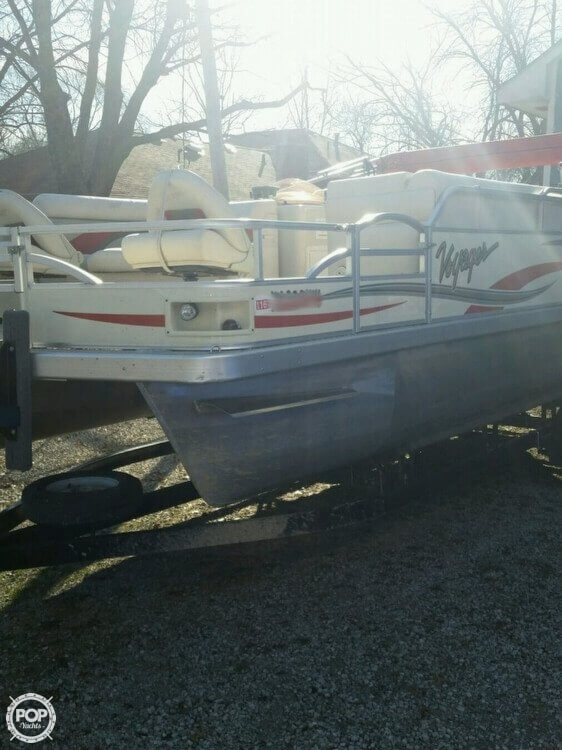 Used Voyager 22 Super Fish N Cruise Pontoon Boat For Sale