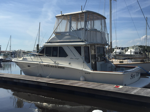 Used Chriscraft Commander Sports Cruiser Boat For Sale