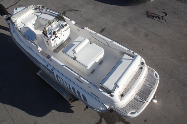 Used Novurania CL 650 Rigid Sports Inflatable Boat For Sale