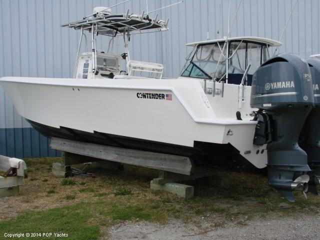 2009 used contender offshore 33 st center console center for Offshore fishing boats for sale