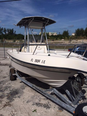 Used Sea Master 2080 Center Console Center Console Fishing Boat For Sale