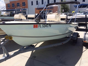Used Key Largo 160 CC Center Console Fishing Boat For Sale