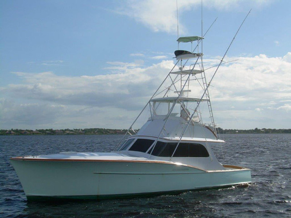 1957 used rybovich sports fishing boat for sale 198 000 for Sport fishing boats