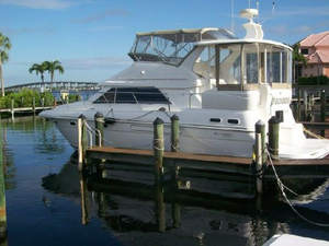 Used Cruisers 3750 Diesel Motor Yacht Sea Ray Motor Yacht For Sale