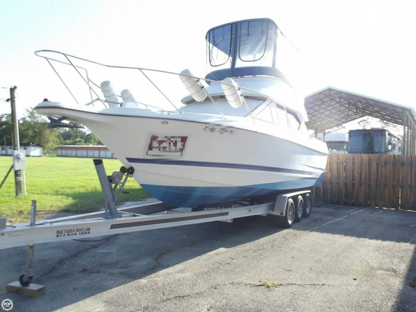 Used Bayliner 288 Command Bridge Cruiser Express Cruiser Boat For Sale