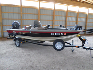 Used G3 Angler V167 C Freshwater Fishing Boat For Sale