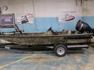 New War Eagle 961 Blackhawk Aluminum Fishing Boat For Sale