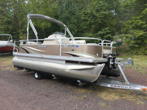 Used Sweetwater SW 1880 FC Pontoon Boat For Sale