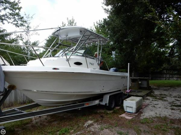 Used Key West 2300 WA Blue Water Walkaround Fishing Boat For Sale