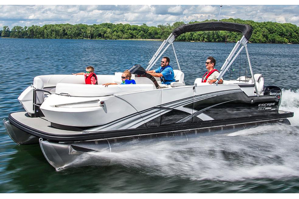 New Larson Escape RT 2200 Fish Cruise Pontoon Boat For Sale
