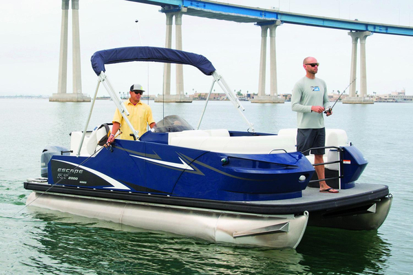 New Larson Escape RT 2000 Fish Cruise Pontoon Boat For Sale