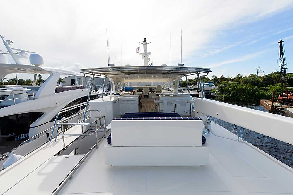 2005 used marlow explorer motor yacht for sale for Port motors west palm beach