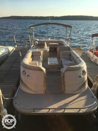 Used Crest Savannah 27 Pontoon Boat For Sale